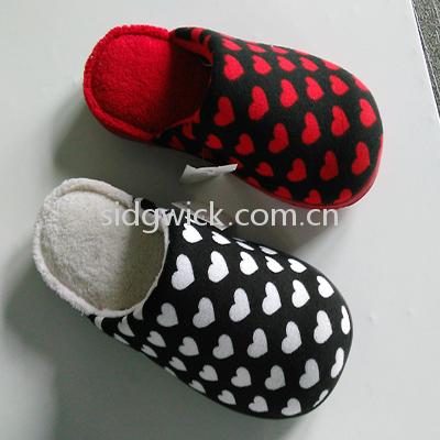Favorite mini hearts indoor slippers for men and women