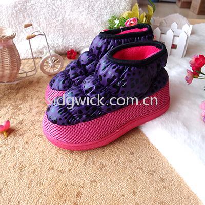 High heel warm boots for women
